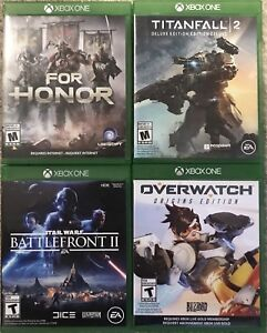 Xbox One Games For Honor Battlefront II Overwatch Titanfall 2