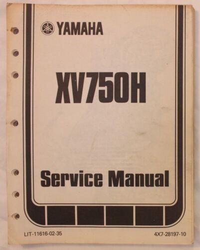 m Original 1980 Yamaha XV750H Service Manual