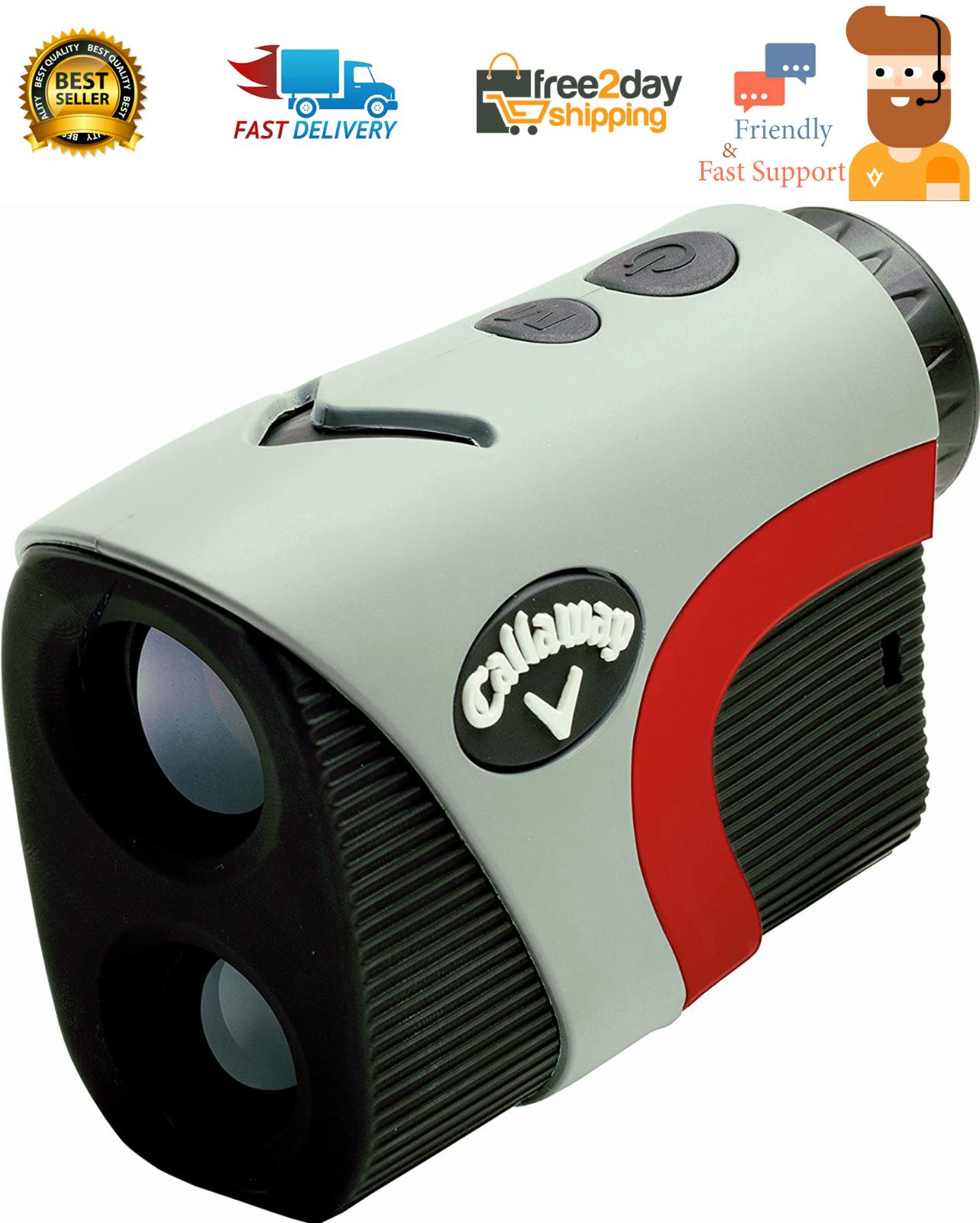 Callaway 300 Pro Golf Laser Rangefinder with Slope Measureme
