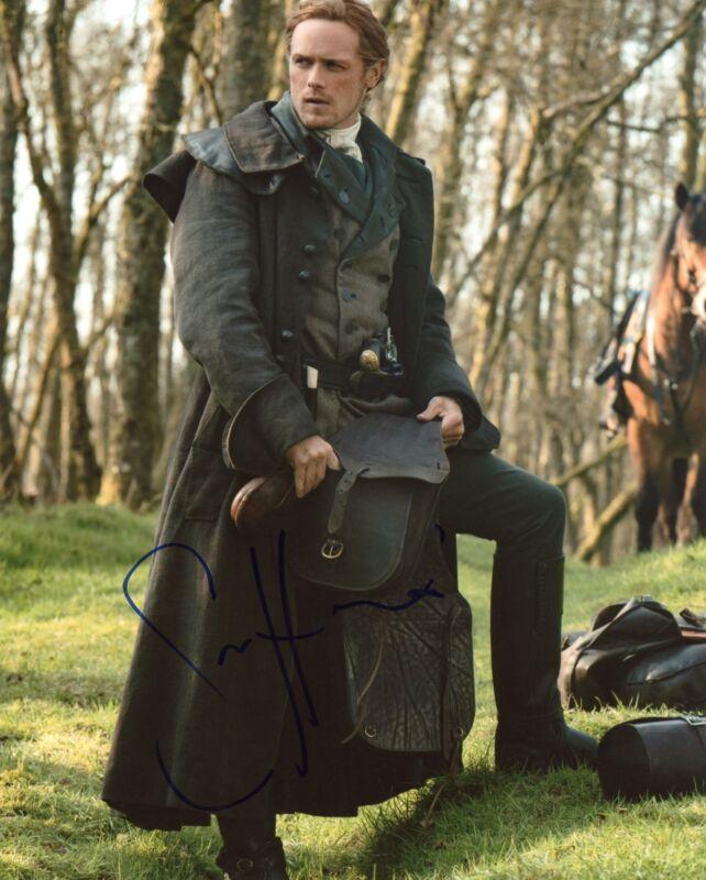 "Sam Heughan ""Outlander"" AUTOGRAPH Signed 8x10 Photo Q ACOA"