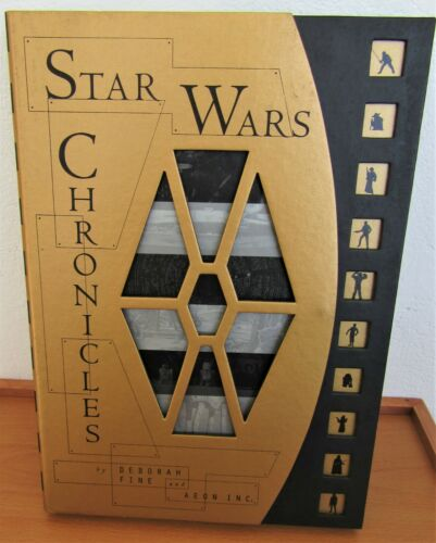 Star Wars Chronicles 1st edition (1997) hardcover book with slipcase.