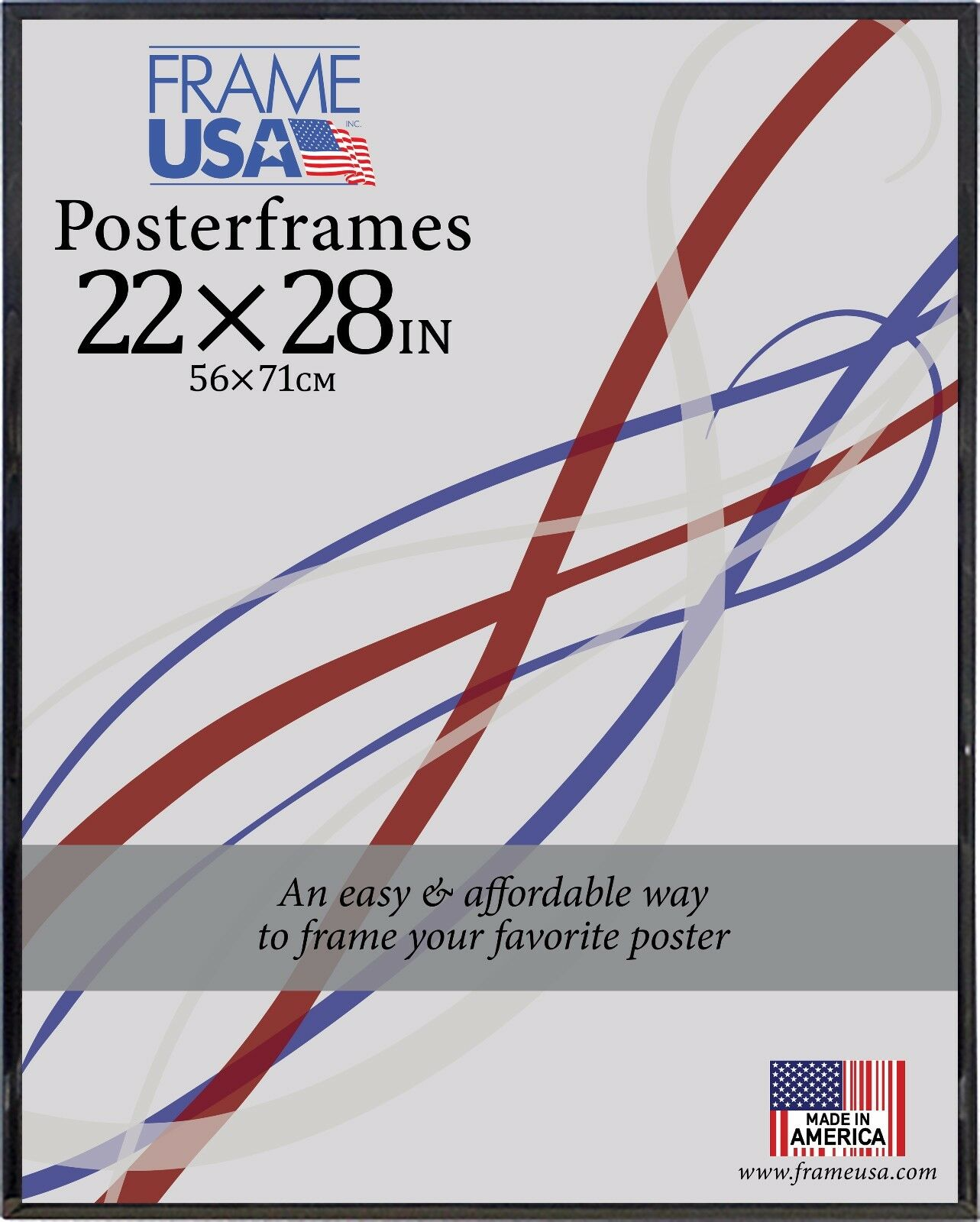 22x28 Poster Frame w/Plexi-Glass and Corrugated Backing - Av