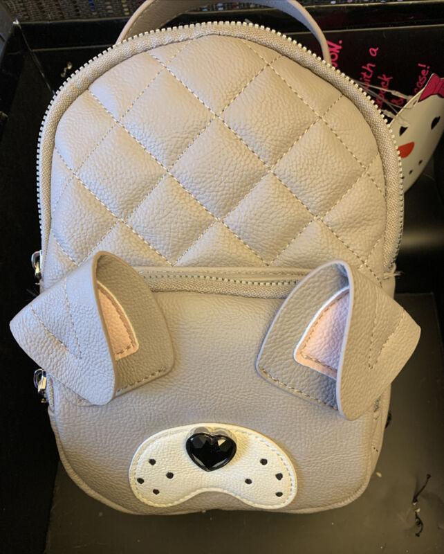 English Bulldog Backpack/Handbag By Betsey Johnson