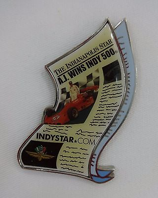 1977 A J  Foyt Indy 500 Winning Indianapolis Indystar Collector Pin