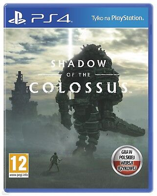 SHADOW OF THE COLOSSUS PL SONY PS4 POLSKI POLSKA WERSJA POLISH VERSION SKLEP for sale  Shipping to Ireland