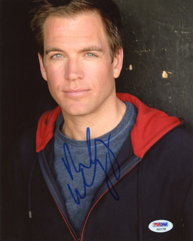 "Michael Weatherly ""NCIS"" AUTOGRAPH Signed 8x10 Photo PSA"