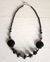 Collana Donna Argento Indiano E Onice Necklace Indian Silver And Onyx -  - ebay.it