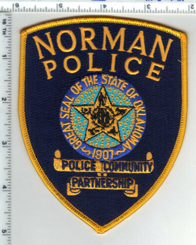 Norman Police (Oklahoma) Shoulder Patch - new