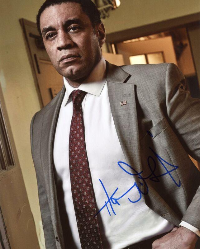 "Harry Lennix ""The Blacklist"" AUTOGRAPH Signed 8x10 Photo B ACOA"