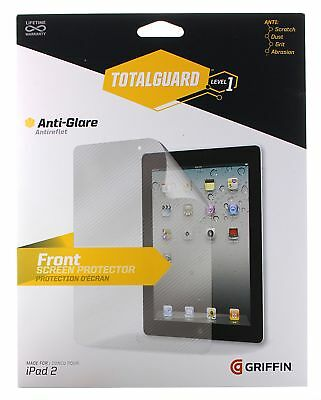 Griffin TotalGuard Screen Protector with Cleaning Cloth for iPad 2/3