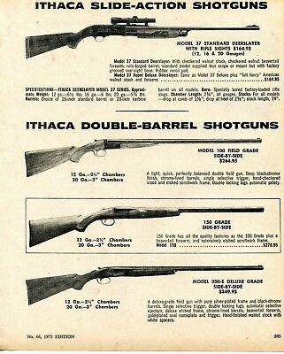 Advertisements - Model 37 Shotgun