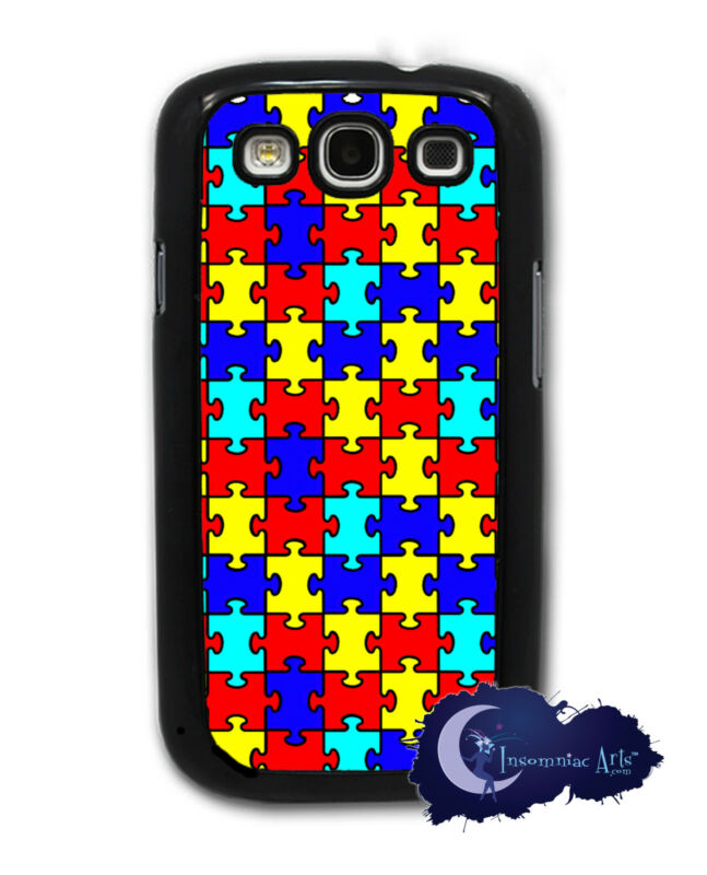 Autism Awareness - Puzzle Pieces Samsung Galaxy S3, SIII, Case Cell Phone Cover