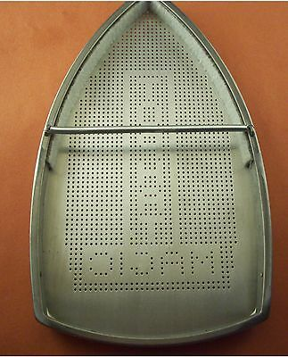 Made In Usa Top Hat Teflon Gravity Steam Iron Ironing Shoe 182.5mm X 109.5mm