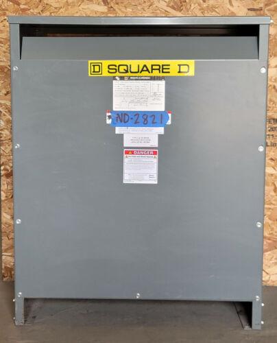 SQUARE D  75kva Transformer 3 Phase 480v-208v/120v Delta Wye 460v 440v 220v EE