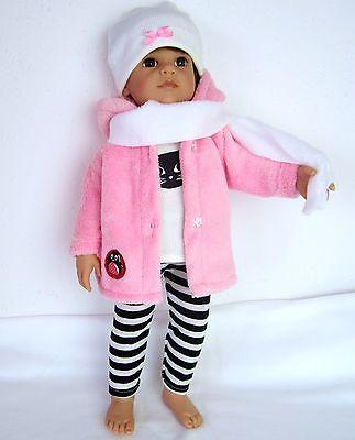 Puppenkleidung Jacken Set für Götz Hannah 50cm -fünf Teiler-