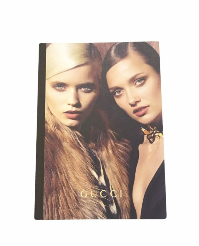 Gucci Women's 2021 Fall Collection Fashion Lookbook Hard Cover