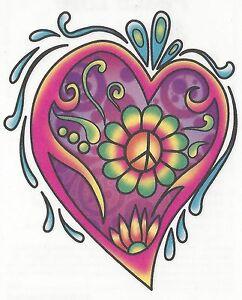 PEACE-GROOVY-FLOWERS-HEART-Temporary-Tattoo