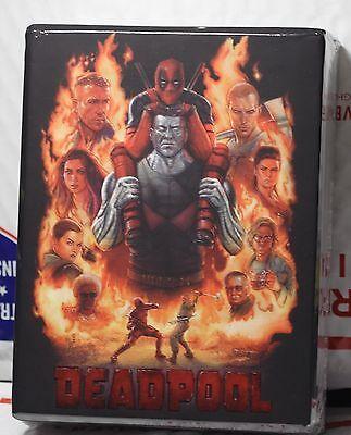 New Deadpool Blu Ray Full Slip Lenti Slip Steelbook  Fac Hardbox  Region Free