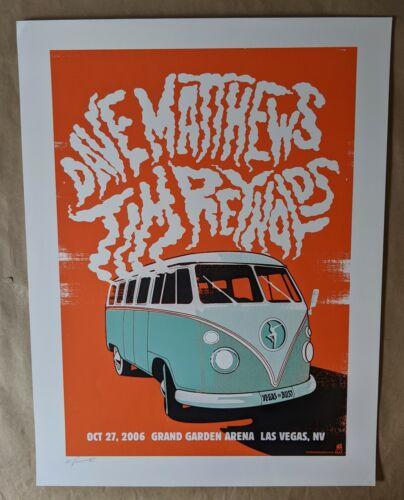 Dave Matthews & Tim Reynolds Poster 10/27/06 Grand Garden Arena Las Vegas NV