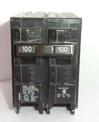 Siemens Eq9675 2 Pole 100a 120-240 V Circuit Breaker New No Box