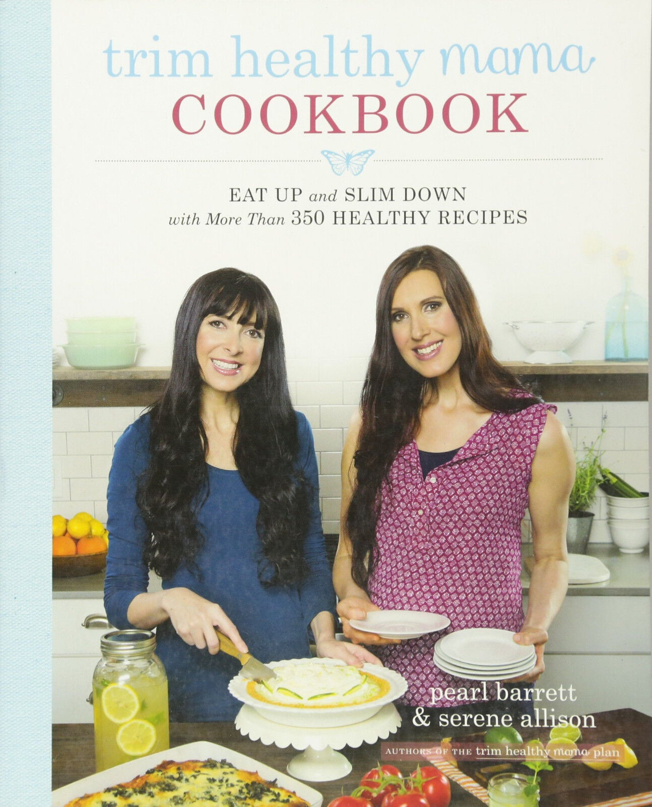 Trim Healthy Mama Cookbook Pearl Barrett Serene Allison Over 350 Recipes WT73539
