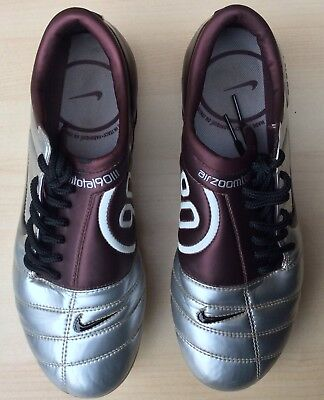ad68d61ef2f Nike Air Zoom Total 90 III Mens SG Purple Silver Football Boots UK 6 EU 40