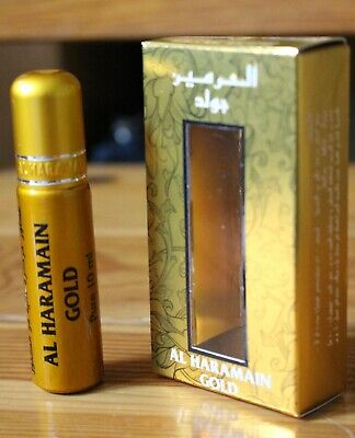 AL HARAMAIN FAMOUS BEST PLEASANT PERFUME OIL ATTAR 10ML ROLL ON BOTTLE (Best Gold Oils)