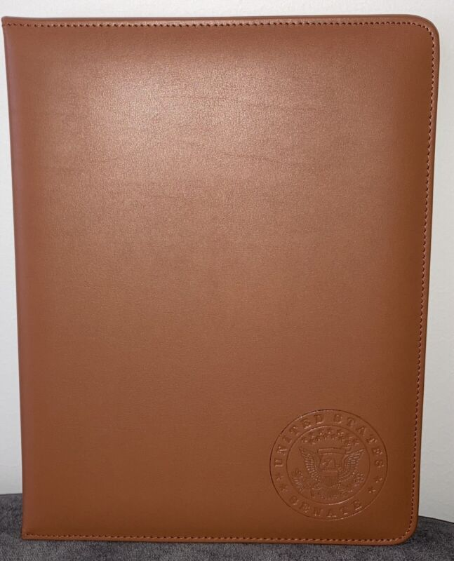 2020 United States Senate USA Folio Portfolio Book NEW *Senator Exclusive*