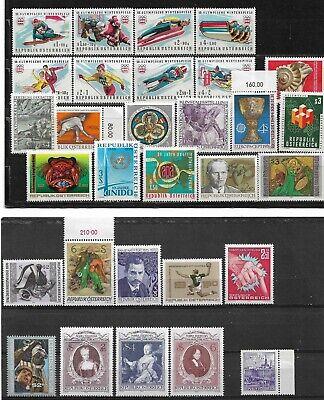 Lot de 30 timbres NEUF** - AUTRICHE - Cotation : 21 euro - (12)