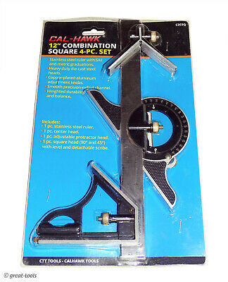 Combination Square 12 - Woodworking Iron Workers Tool Tools Measuring