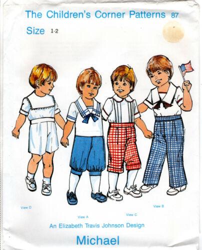 """MICHAEL"" Boys Shirts & Pants ©1989 CHILDREN"
