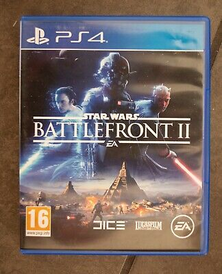 Ps4 Star Wars Battlefront 2 game