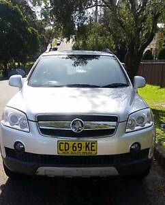 2009 Holden Captiva Diesel 4cy and 7 seats Bexley Rockdale Area Preview