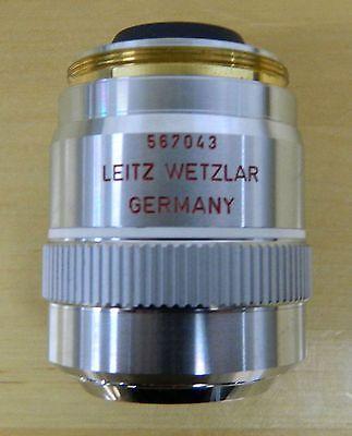 Leitz Wetzlar 150x Pl Apo Microscope Objective