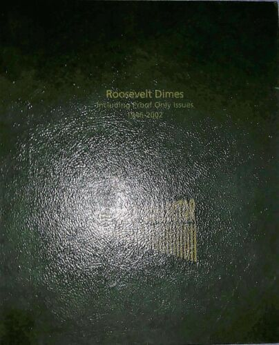 1946-2002 ROOSEVELT DIME COIN COLLECTION SET INCLUDING PROOF ONLY ISSUES & BU