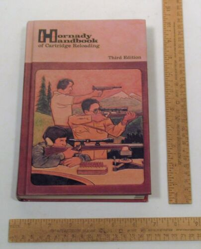 Hornady HANDBOOK of CARTRIDGE RELOADING - Third Edition - hardback BOOK - # 617