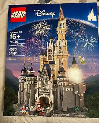 LEGO 71040 The Disney Castle 4080 Pieces New Factory Sealed VERY RARE!!! NEW!!!