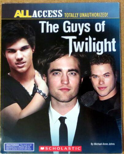 The Guys Of Twilight Book Magazine Kellan Lutz, Taylor Lautner, Robert Pattinson
