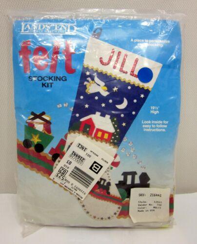 Lands' End Felt Stocking Kit