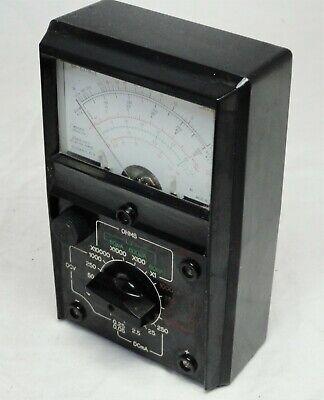 Vintage Sanwa Volt Meter Sh-63trdii Radio Lab Electronic Test Equipment Accs.