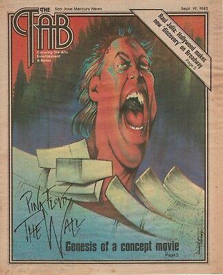 1982 Pink Floyd The Wall Movie Lamberto Alvarez San Jose Mercury News Cover Art
