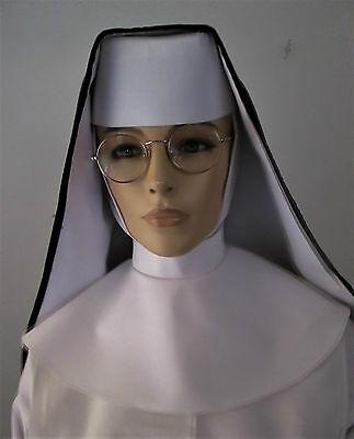 NUNS VEIL SET-DOMINICAN; nuns veil,nun veils,nuns habit,nun's habit,nuns