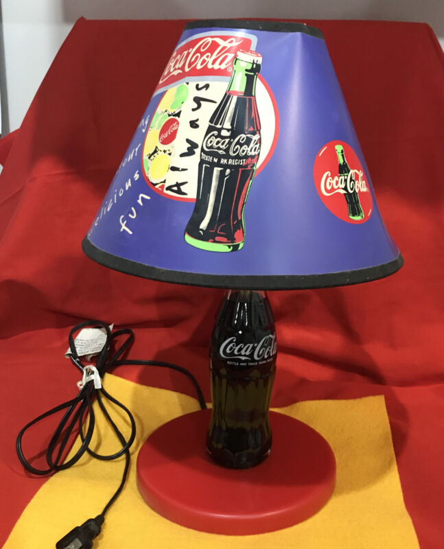 Coca-Cola Coke Bottle Table Lamp