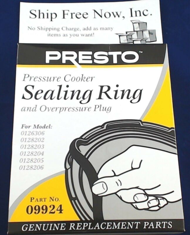 09924 - Presto Pressure Cooker Gasket Sealing Ring