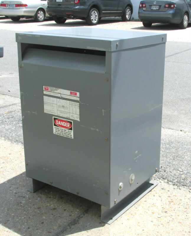 * Federal Pacific Transformer 51 KVA .. 3PH Cat# FH51CFMD-3 .. OD-350