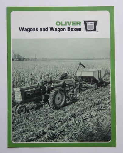 Oliver 5010 5025 5026 5030 5005 Wagon 5131 Gravity 5150 Flare Box Brochure