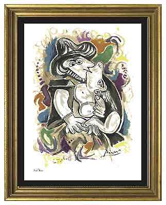 Pablo Picasso Signed & Hand-Numbered Limited Edition