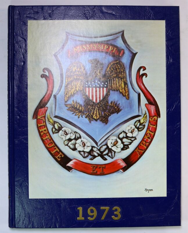 Mississippi Department Public Safety 1973 Highway Patrol Yearbook History Book