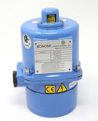 Bonomi EA045-003 - Spring Return Electric Actuator 110v 0.6A 60hz 443 in/lbs Tq