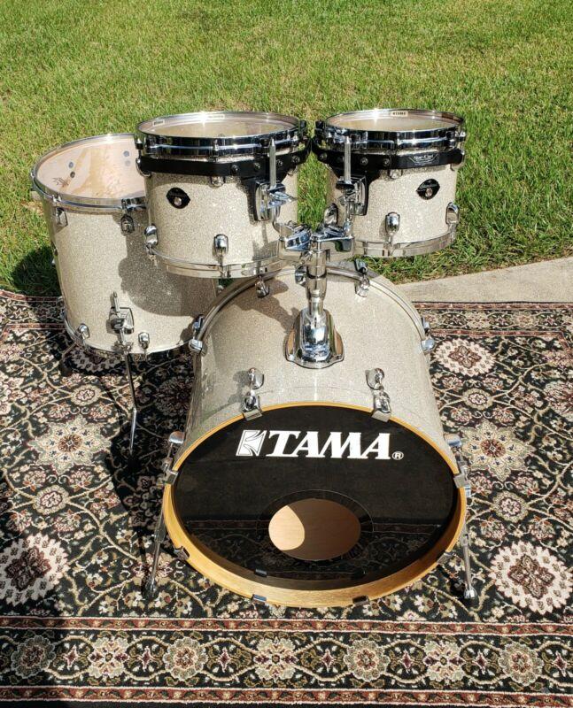 Tama Starclassic Performer EFX 4 Piece Drum Shell Pack - Diamond Dust